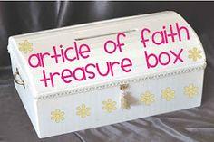 Activity Days article of faith ideas