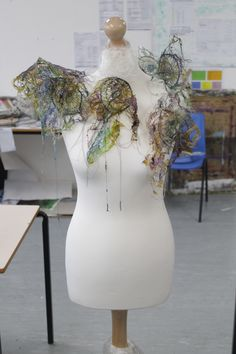 Foundation students Exploratory Stage work in response to a Landscape project
