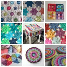 patterns - amazing triangle circle pattern worked together into an afghan is beautiful with all the different colors they used