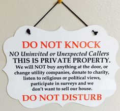 Items similar to Do Not Knock/Disturb-No Soliciting Sign/Plaque on Etsy Items similar to Do Not Knock/Disturb-No Soliciting Sign/Plaque on Etsy Funny Welcome Mat, Welcome Door Signs, Funny No Soliciting Sign, Front Porch Signs, Diy Cutting Board, Painted Wood Signs, Up House, Outdoor Signs, It Goes On