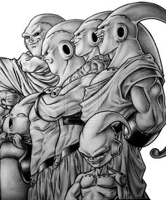 #Majin #Buu Team commission by TicoDrawing on deviantART