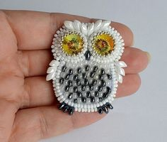 The Beading Gem's Journal: 6 Awesome Beaded Owl JewelryTutorials to Try!