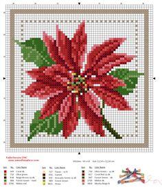 Letras e Artes da Lalá: Então é Natal: Gráficos de ponto cruz (encontrados no google, desconheço autoria)