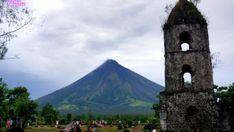 Cagsawa, Albay: Mayon Volcano and The Ruins Around The World In 80 Days, Around The Worlds, Cool Places To Visit, Places To Go, Philippines Travel Guide, Active Volcano, Ways Of Seeing, Beach Fun, Tower Bridge