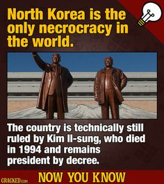 12 Boss Movie & General 'Now You Know' Facts | Cracked.com #northkorea #kimjongun #kimilsung Life Moves Pretty Fast, Historical Pictures, Weird World, North Korea, Breakup, Singing, Boss, Facts, Humor