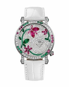 Queen Couture Floral Gem Watch..wow  wanna this watch  :/