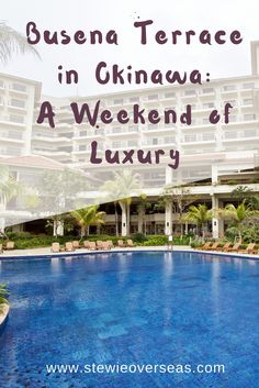 Looking for a high-class resort in Okinawa? The Busena Terrace Resort in Nago has excellent service, facilities, water activities, and a view of the ocean. Click for more Japan travel!
