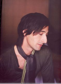 Adrien Brody is in my opinion one of the most beautiful men ever to grace the silver screen. I wish I could give him a hug, he looks very huggable.