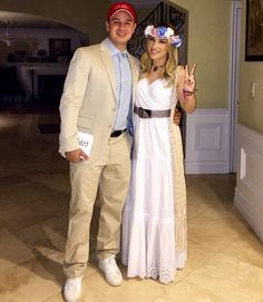 Forrest Gump and Jenny - Halloween Costume