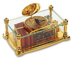 My wife has always had a love for classic looking music boxes, and I wanted to find her a very nice looking one. I really love the look of this one because of the gold pieces, and the tiny bird in the center. I would be curious to hear how it sounds as well.
