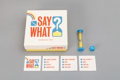 Say What? on Packaging of the World - Creative Package Design Gallery