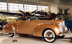 1940 Packard Darrin Super Eight Custom One Eighty Victoria Convertible