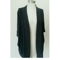 Allsaints 2 tone sweater Lose fit short sleeves in 2 tone gray All Saints Sweaters Cardigans