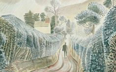 Wet Afternoon by Eric Ravilious (1928)