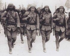 Osmanlı Türk askerleri - Gelibolu Mart 1915 |  Ottoman troops, Marz 1915