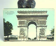 Lot of 15 Color Vintage Postcards of Paris by RedLittleVintage, $20.00