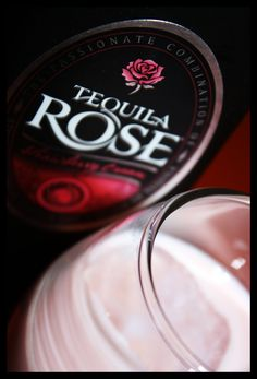 Homemade Tequila Rose.