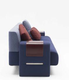 Max Sofa Side View Design Charles Kalpakian