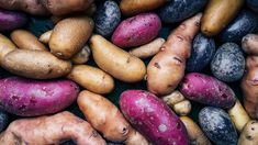 The Difference Between Brown and Sweet Potatoes | Eat This Not That Types Of Potatoes, Purple Potatoes, Sweet Potato Varieties, Starch Foods, Starch Recipes, Growing Sweet Potatoes, Purple Food, Cleanse Recipes, Dried Beans