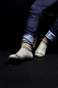 invest in stylish wool socks for the winter.