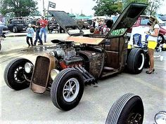 Rat Rod w/Wing Doors