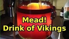 How to make Mead - The greatest drink in the world! How To Make Mead, Brewing, Drinks, World, Youtube, Life, The World, Brow Bar, Drink