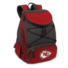 Pin it! :) Follow us :)) CLICK IMAGE TWICE for Pricing and Info :) SEE A LARGER SELECTION of camping coolers at   -  hunting, camping accessories, camping insulated bags, coolers, camping gear, camp supplies - NFL Kansas City Chiefs PTX Insulated Backpack Cooler, Red « zCamping.com