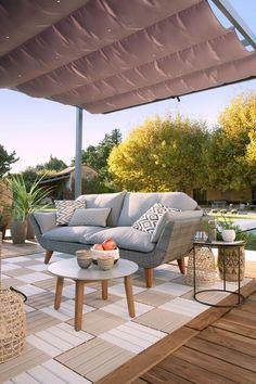 Créer une terrasse avec des dalles clipsables, Leroy Merlin