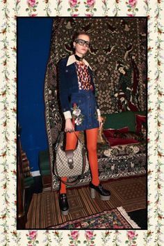 For Gucci's pre-fall 2017 collection, creative director Alessandro Michele once again delved into an eclectic and whimsical-filled journey. With over eighty looks in total, the lookbook was captured in Rome, Italy, at the Antica Libreria Cascianelli and the Antica Spezieria di Santa Maria della Scala. The first being an old bookstore and the latter being …