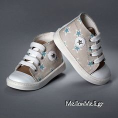Βαπτιστικά παπούτσια sneakers με αστεράκια Everkid 9149t σε 2 χρώματα Christening Themes, Boy Christening, Baby Baptism, Baptism Ideas, Little Boy Fashion, Baptism Invitations, Little Boys, Baby Shower Gifts, Converse