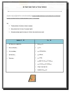 Plot diagram quiz the curious teacher learning materials handy sheet on closing sentences ccuart Images