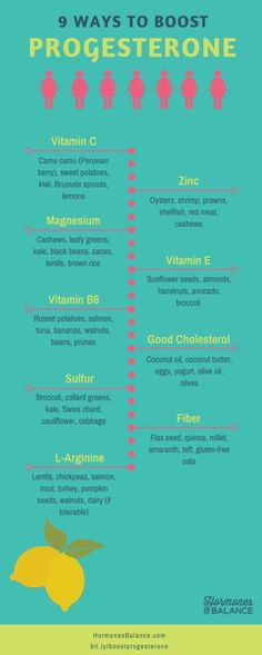 9 Nutrients That Boost Your Progesterone and Balance Your Hormones