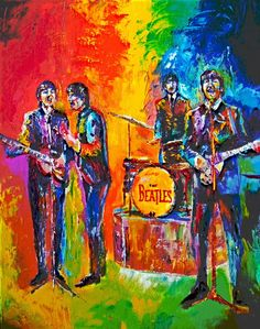 "fuckyeahpsychedelics:    ""Beatles Hard Days Night"" by beatles74i0c    (via rainblowg)"