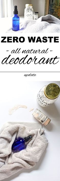 An all natural, zero waste deodorant that really works with http://www.goingzerowaste.com