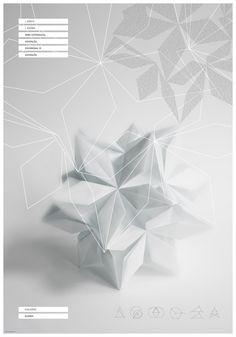 Euclid's Elements   posters by Agnes Dombovari, via Behance
