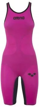 Arena Carbon Air Open Back Suit - Pink