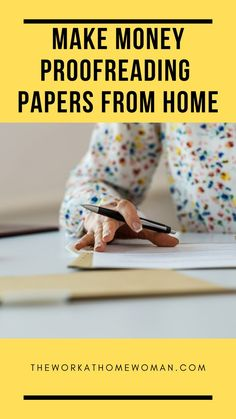 If you have an eagle eye for catching typos and grammar errors, you can make good money working from home as a proofreader. Here's what you need to know and a list of companies that hire proofreading experts. Legit Work From Home, Work From Home Tips, Make Money From Home, Way To Make Money, How To Make, Legitimate Online Jobs, Legitimate Work From Home, Make Money Blogging, Make Money Online
