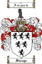 Savage Coat of Arms / Savage Family Crest