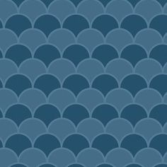 Bali Blue Scallops Shelf Liner / contact paper. This scallop pattern features shades of teal blue.