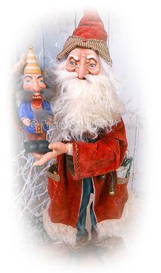 Original Santa with nutcracker by Scott Smith of Rucus Studio © 2014