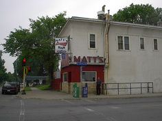 """Matt's Bar's """"Jucy Lucy"""", the original cheese-on-the-inside burger. If it's spelled right, it's an imposter."""