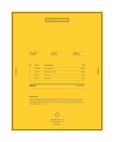 Invoices don't need to be boring. Here are 50 examples of awesome invoice designs.