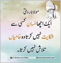 Motivational Quotes In Urdu, Rumi Love Quotes, Sufi Quotes, True Feelings Quotes, Poetry Quotes In Urdu, Good Life Quotes, Funny Quotes, Best Islamic Quotes, Islamic Inspirational Quotes