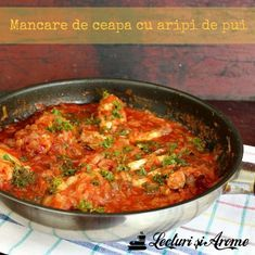 mancare de ceapa Baby Food Recipes, Cooking Recipes, Healthy Recipes, Romanian Food, Home Food, Food To Make, Recipies, Curry, Food And Drink
