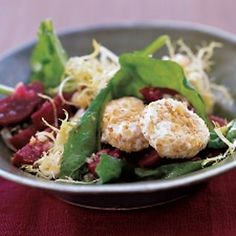 Arugula, Beet, & Goat-Cheese Salad Recipe - ZipList