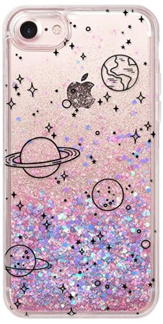 Casetify iPhone 7 グリッター ケース - UNIVERSE by KIND OF STYLE #Casetify