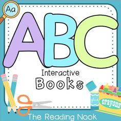 This set of 26 Alphabet Interactive Books is just what your students need to practice letter identification, writing, sounds, and categorizing in a hands-on way!