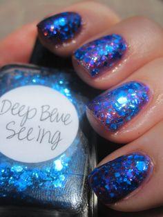 deep blue seeing Lynnderella by Love8Brain, via Flickr