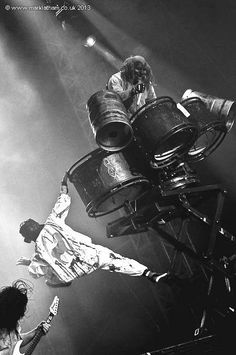 "#0. Sid Wilson & #6. Shawn ""Clown"" Crahan ~ Slipknot"