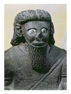 """Blue-eyed king Haddad - there are more records of this time period. Around 971 B. and stated in 1 Kings it is in """"the fifth year of King Rehoboam, (when) Sh. Ancient Near East, Ancient Art, Ancient History, The Bible Movie, Cradle Of Civilization, Thunder And Lightning, Interesting History, Ancient Civilizations, World History"""